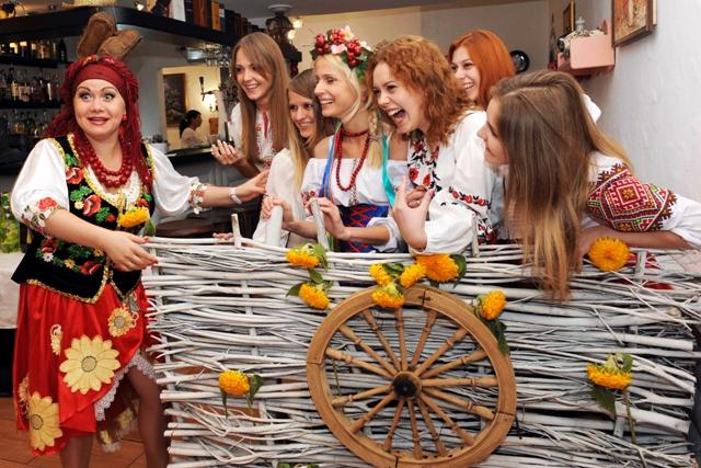 Сценарий в русском стиле на день рождения